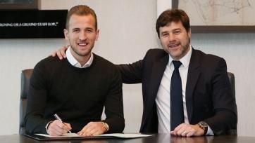 Официально: Харри Кейн подписал новый контракт с «Тоттенхэмом» до 2022-го года