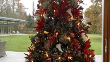 Болельщики «Эвертона» раскритиковали Рональда Кумана за игрушки красного цвета на рождественской ёлке