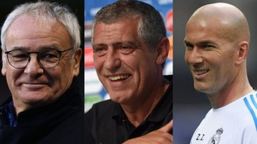 Сантуш, Зидан и Раньери – претенденты на звание тренера года