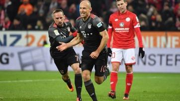 «Бавария» победила «Майнц» в первом матче тринадцатого тура Бундеслиги
