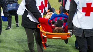 Фернандес травмировался в игре с «Уралом»