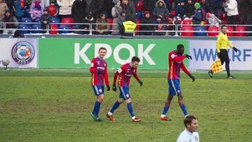 ЦСКА отправил четыре безответных мяча в ворота «Урала»