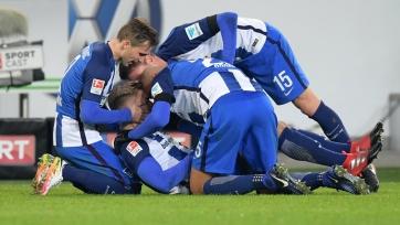 «Вольфсбург» проиграл «Герте» и другие результаты 13-го тура Бундеслиги