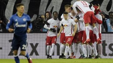 «Лейпциг» переиграл «Шальке», вернув себе единоличное лидерство в Бундеслиге