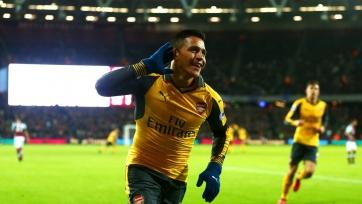 Хет-трик Санчеса вошёл в тройку самых быстрых в истории «Арсенала» в АПЛ