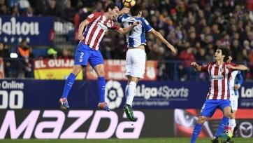 «Атлетико» не сумел переиграть «Эспаньол»