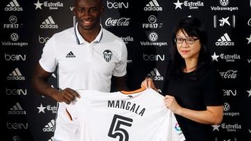 «Валенсия» не планирует выкупать Мангала у «Манчестер Сити»