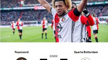 «Фейеноорд» разбил «Спарту», «Аякс» переиграл «Гронинген»