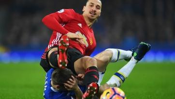 Ибрагимович может быть дисквалифицирован за удар соперника ногой в голову