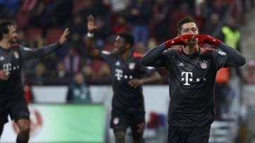 «Бавария» выиграла 36 из 37-ми матчей Бундеслиги, в которых Левандовски забивал голы