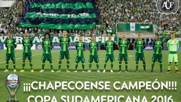 Официально: «Шапекоэнсе» - чемпион Копа Судамерикана-2016