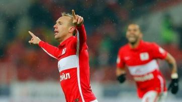 «Спартак» завершил первую половину сезона на мажорной ноте, переиграв «Рубин»