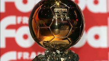 Обладатель «Золотого мяча» будет объявлен 12 декабря