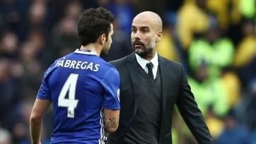 Гвардиола рассказал, почему не пожал руку Фабрегасу  после матча «Манчестер Сити» с «Челси»