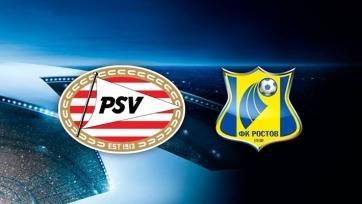 ПСВ – «Ростов», прямая онлайн-трансляция. Стартовые составы команд
