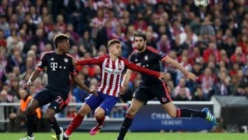 «Бавария» - «Атлетико», прямая онлайн-трансляция. Стартовые составы команд