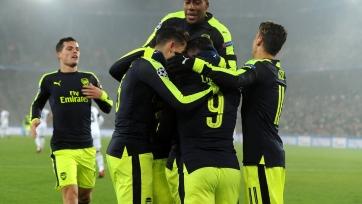 «Арсенал» завершил групповой этап ЛЧ крупной победой над «Базелем»