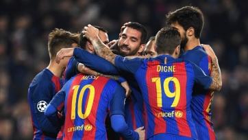 Opta: «Барселона» установила рекорд Лиги чемпионов по количеству передач в матче