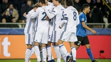 «Брюгге» потерпел шестое поражение кряду, уступив дома «Копенгагену»