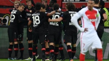 «Байер» отправил три безответных мяча в ворота «Монако»