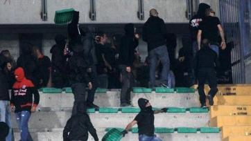 Двенадцать фанатов «Спарты» были арестованы в Милане за нападение на стюарда стадиона «Сан-Сиро»