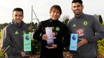 Коста – лучший футболист АПЛ в ноябре, Конте – лучший тренер