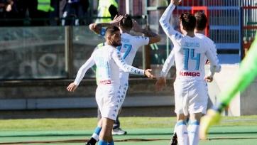 «Наполи» разгромил «Кальяри», забив пять голов