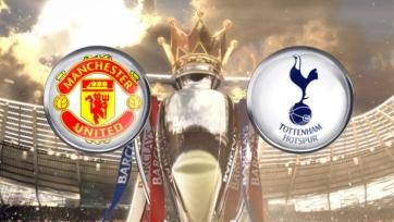 «Манчестер Юнайтед» - «Тоттенхэм», прямая онлайн-трансляция. Стартовые составы команд