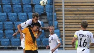 «Александрия» переиграла «Черноморец» в матче, в котором было показано 15 желтых карточек