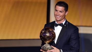 Роналду не будет присутствовать на церемонии вручения «Золотого мяча»