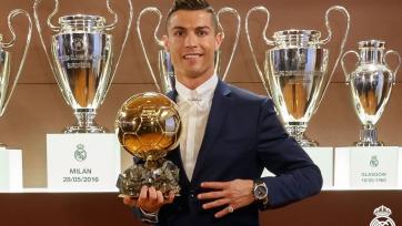 Криштиану Роналду: «И не думал, что выиграю «Золотой Мяч» четырежды!»