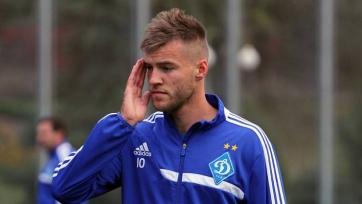 Андрей Ярмоленко признан лучшим футболистом Украины в 2016-м году