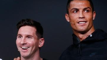 Роналду: «Если бы мы с Месси играли в одной команде, у меня бы было больше «Золотых мячей»