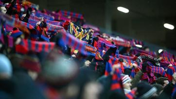 У болельщиков ЦСКА изъяли холодное оружие, патроны, а также муляж гранаты