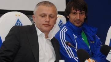 Суркис поблагодарил Шовковского за преданность «Динамо» и патриотизм