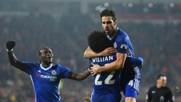 «Челси» одержал победу над «Сандерлендом» благодаря голу Фабрегаса