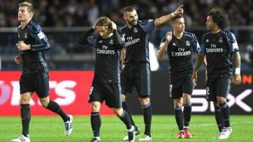 «Реал» переиграл «Америку» и вышел в финал клубного Чемпионата мира