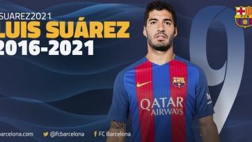Официально: «Барселона» достигла соглашения с Суаресом о новом контракте