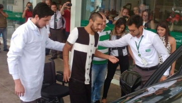 Выживший футболист «Шапекоэнсе» выписался из больницы