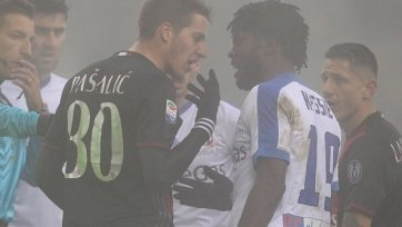 «Милан» потерял очки в матче с «Аталантой»
