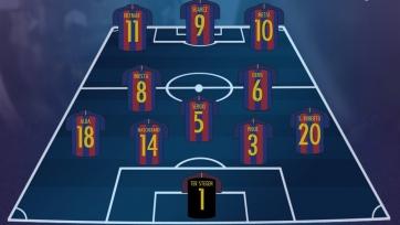 «Барселона» - «Эспаньол», прямая онлайн-трансляция. Стартовый состав «Барселоны»