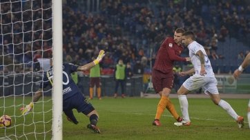 «Рома» уверенно переиграла «Кьево»