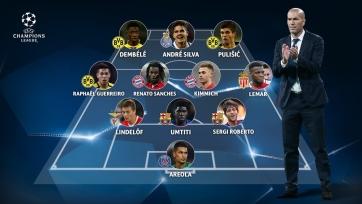 УЕФА составил «дрим-тим» из игроков-открытий Лиги чемпионов