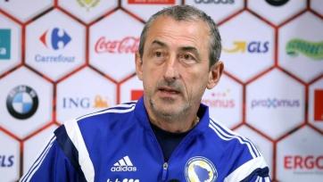Наставник боснийской сборной дисквалифицирован на один матч