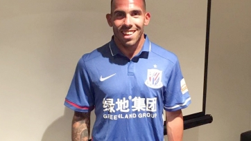 Официально: Карлос Тевес перешёл в «Шанхай Шеньхуа» и стал самым высокооплачиваемым игроком мира
