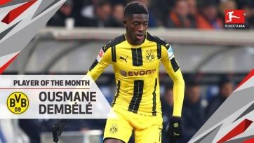 Дембеле – лучший игрок Бундеслиги в декабре