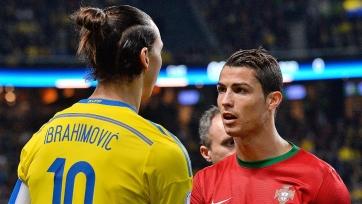 Ибрагимович: «Игра Роналду – это результат тренировок. Дело не в таланте»