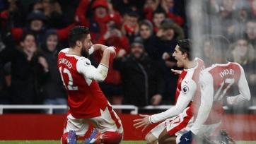 «Арсенал» забил два безответных мяча «Кристал Пэласу»
