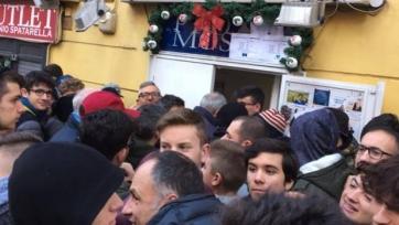 Болельщики «Наполи» скупили уже более сорока тысяч билетов на матч с «Реалом»
