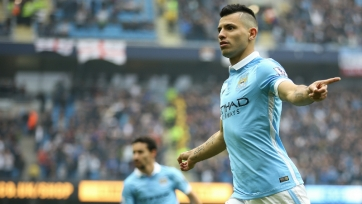 Агуэро вышел на третье место в списке лучших бомбардиров в истории «Манчестер Сити»